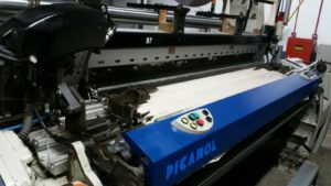 Picanol optimax loom at Imatex