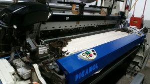 Picanol optimax loom at Imatex